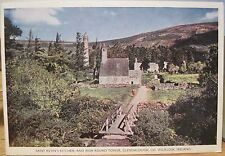 Irish Postcard ST KEVIN'S KITCHEN Chapel GLENDALOUGH Wicklow Ireland PC DeLuxe
