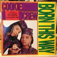 [RAP]~NM LP~COOKIE CREW~Born This Way~{Original 1989~MERCURY~PROMO]~