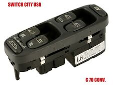 OEM Volvo C70 Convertible Driver Master Power Window Switch 8628966