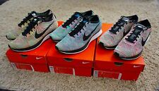 Nike Flyknit Racer Multicolor Set MC1 MC2 MC3 sz 10/10.5