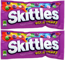 2 x Skittles Wild Berry American Sweets from Candy Junction USA IMPORT