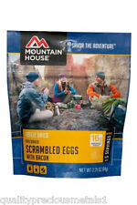 1 - Mountain House Freeze Dried Food Pouches - Scrambled Eggs with Bacon