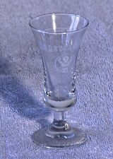 Shot Glass Stem Glass Shooter Jaegermeister Retired Original 860 K