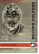 Grant Fuhr 06/07 ITG Between the Pipes Record Holders #148