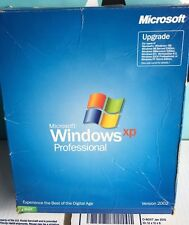Microsoft Windows XP Professional UPGRADE PLEASE READ