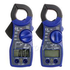 Digital LCD Voltmeter Ammeter Ohmmeter Multimeter Volt AC DC Tester Clamp Meter