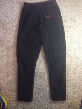 Women's Brown Lands End Lounge Pants Size M 10-12 Mont-Bell Black Stretch Ked