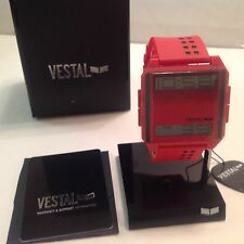 VESTAL WATCH DIGICHORD   RED/POSITIVE DIG023 BRAND NEW