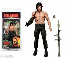 Action figure John Rambo film First Blood part II 2 Stallone 18 cm by Neca