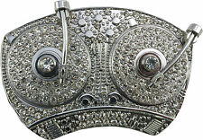 Retro Belt Buckle- Diamond DJ Decks