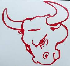 adesivo toro bull mucca auto moto scooter wall sticker decal animal animale wall
