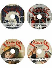 The Smart Set: A Magazine of Cleverness {1913-1922} ~120 Magazine Issues on DVD