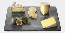 "SLATE CHEESE BOARD RECTANGULAR 9"" X 12"" NATURAL STONE SERVING TRAY"