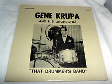 Gene Krup and Orchestra: That Drummer's Band  [Still Sealed Copy; Mono]
