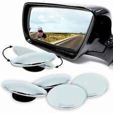 Zone Tech 4x Rotatable Adjustable Blind Spot Exterior Car Mirrors Stick On Thin