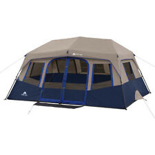 Ozark Trail 10 Person 2 Room 14' x 10' All Season Instant Cabin Tent, 8 Windows