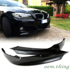 UNPAINTED BMW E90 3-Series 4D Sedan LCI OE TYPE Front Splitter ABS 09-11