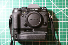 Fujifilm X Series X-T1 Camera Black - VG-XT1 Battery Grip, Flash and extras