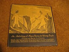 "An Anthology Of Negro Poetry For Young People/ Folkways/ 1958/ 10"" LP"