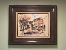 Roberto Cordero Pen and Watercolor Original Painting!!. ��