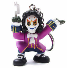 "DOCTOR WHO Time Squad Character Keychain CLOCKWORK MAN 3"" Figure Bag Clip Hanger"