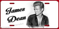 JAMES DEAN ARTWORK  License Plate, can be personalized  Made in USA