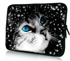 "Cute Cat 17"" Laptop Bag Case For 17.3"" ASUS Acer Toshiba Satellite Dell Inspiron"