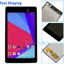 BLK LCD Touch Screen Digitizer W/Frame For Asus Google Nexus 7 2nd Gen 2013 WIFI