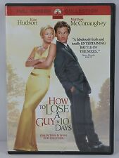 How to Lose a Guy in 10 Days DVD 2003 Full Frame