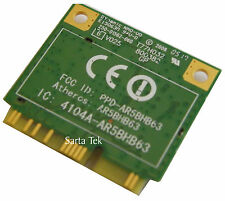 New Atheros AR5BHB63 Mini PCI-E Half Height Wireless Card T77H032