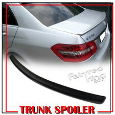 Painted For Mercedes Benz W212 E-Class 4DR Sedan Trunk Spoiler Wing 775 Silver