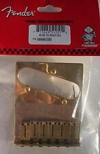 GENUINE FENDER GOLD American Tele TELECASTER Bridge AM Series DELUXE Made in USA