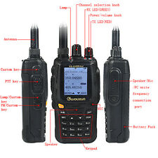 Wouxun Walkie Talkie UHF/VHF Duplex Repeater Two-Way Radio Transceiver SOS Alarm