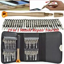 Mobile Phone Repair Tool Kit 29 in 1 Screwdriver SET FOR iPHONE 4 5 6 IPOD IPAD