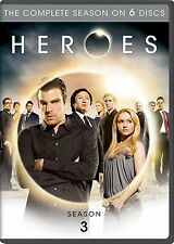 Heroes ~ Complete 3rd Third Season 3 Three ~ BRAND NEW 6-DISC DVD SET
