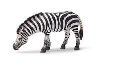 Z17) Schleich Zebra grasend Stute (14609) Schleichtier Schleichtiere Wildlife