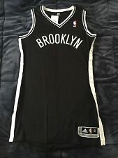 Brooklyn Nets Authentic Revolution 30 BLANK NBA Jersey Black RARE Size M +2