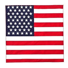 USA America Flag Bandanna Head Wear American Bandana Bands Scarf Neck Wrap