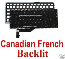 Apple MacBook Pro A1398 Keyboard - CF - Canadian French - Backlit