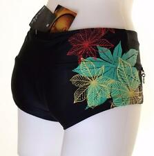 Bnwt Women's Oakley Stretch Bikini Bottoms Large New UPF 50+ Swim Surf Joy Ride