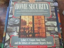 Home Security by Anne Beller, Consumer Reports Books Editors and Sydney Cooper (