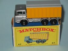 MATCHBOX Regular Wheels 47 DAF Tipper Container Truck VVNM in E4 box