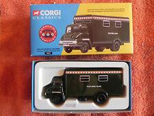 Corgi classics thames trader police mobile unité de contrôle 30307 ltd edition