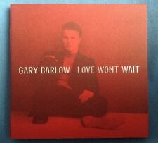 GARY BARLOW - 'LOVE WON'T WAIT' 1 TRACK PROMO CD - GARY1 - 1997