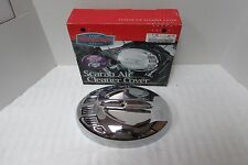 KURYAKYN GENUINE SCARAB CHROME AIR CLEANER COVER HARLEY TOURING DYNA SOFTAIL