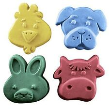 Kids Critters 3 Guest Soap Mold by Milky Way Molds - MW111