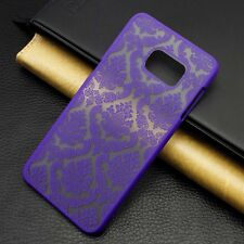 Luxury Slim Flip PC Matte Hard Case Cover Skin For Various Samsung Galaxy Phone