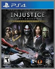 NEW Injustice Gods Among US Ultimate Edition (Sony PlayStation 4, 2013) NTSC PS4