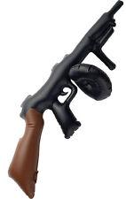 Aufblasbare Thompson-Maschinenpistole NEU - Zubehör Accessoire Karneval Fasching