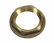 3/4 Inch BSP Brass Flanged Back-nut | British Standard Pipe Thread Fitting
